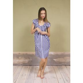 Twisted Stripe Dress