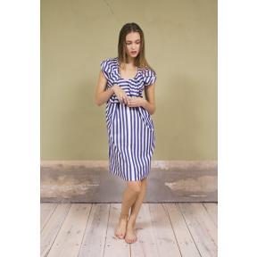 Twisted Stripe Dress