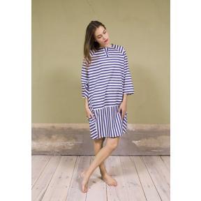 Stripe Blocking Dress