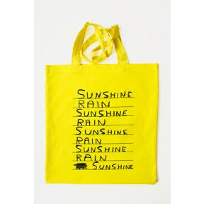 mono.editionen #01: Shrigley Tote Bags / Sunshine Yellow
