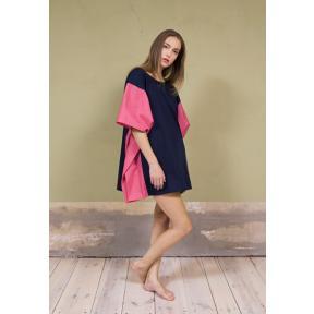 Colour Blocking Kaftan Dress