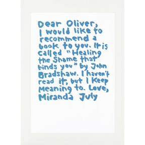mono.editionen #02 / Miranda July: Dear Oliver