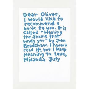 mono.editionen #02 / Miranda July: Dear Oliver